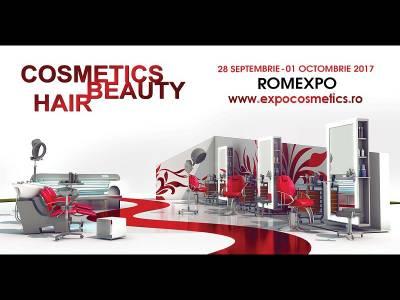 Sărbătorește împreună cu Romexpo 23 de ani de frumusețe, la Cosmetics Beauty Hair!