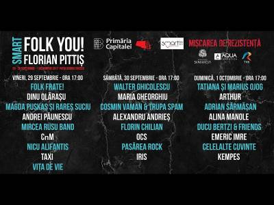 Gala Smart Folk You!, regal de concerte bune