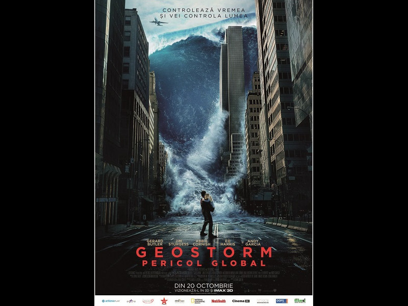 Gerard Butler în noul science fiction, Geostorm