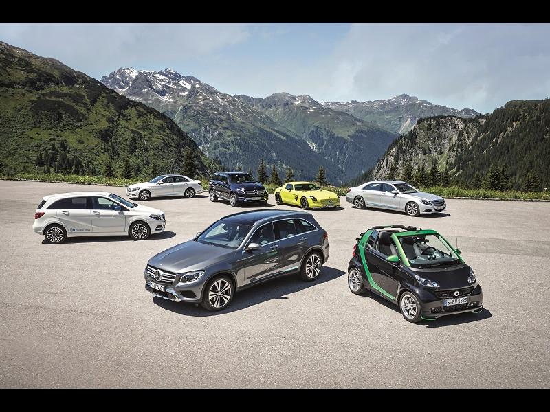 Revoluţie electrică la Mercedes-Benz
