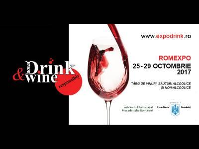 O incursiune în lumea rafinată a băuturilor la Expo Drink & Wine