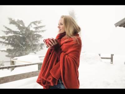 Pătura roșie și minunile cosmetice ale toamnei