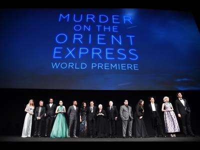 Crimă în Orient Express, premiera mondială