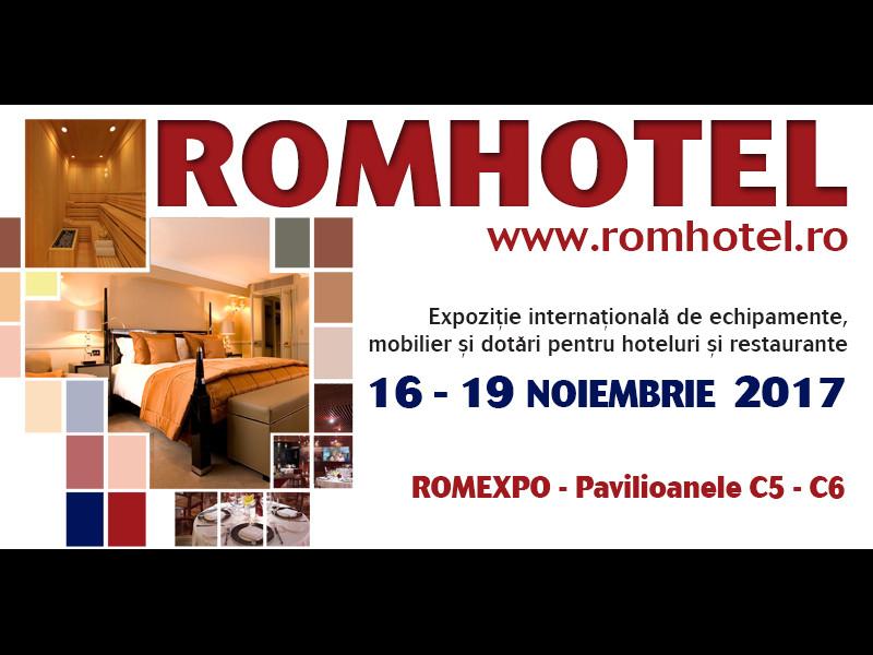 Peste 80 de companii din industria ospitalităţii expun la Romhotel