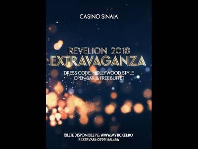 Extravaganza: Revelion de 5 stele la Casino Sinaia!