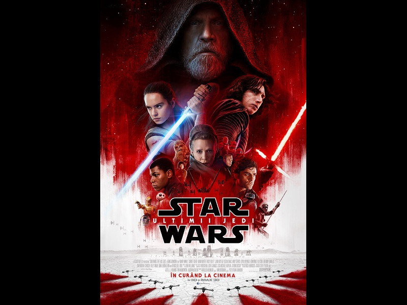 Hai la video-mapping Star Wars: Ultimii Jedi