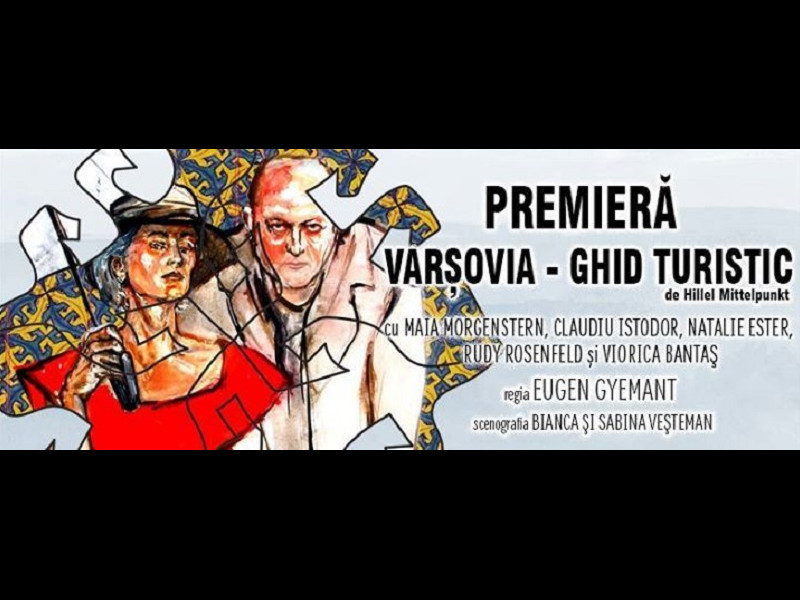 Premieră teatrală cu Maia Morgenstern