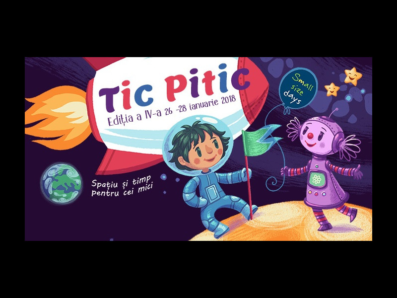 TIC PITIC - Zilele Small Size, un mini-maraton teatral pentru cei mai mici spectatori