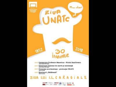UNATC îl sărbătorește pe I.L. Caragiale