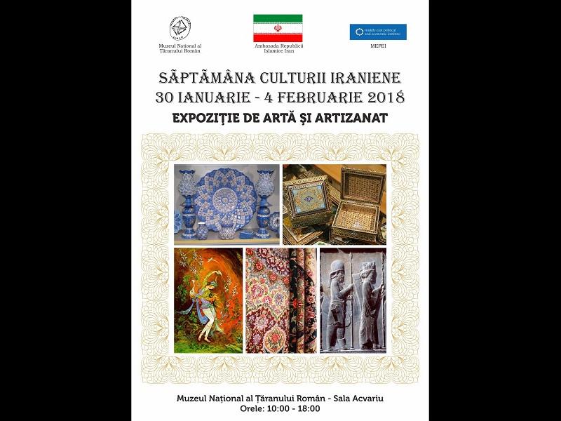 Săptămâna culturii iraniene la MNȚR