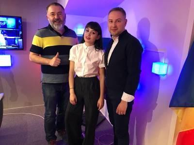 Irina Rimes în vizită la studiourile Digi FM