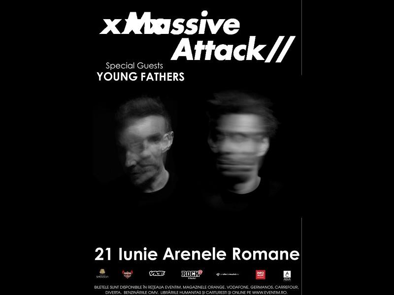Massive Attack vin la Arenele Romane