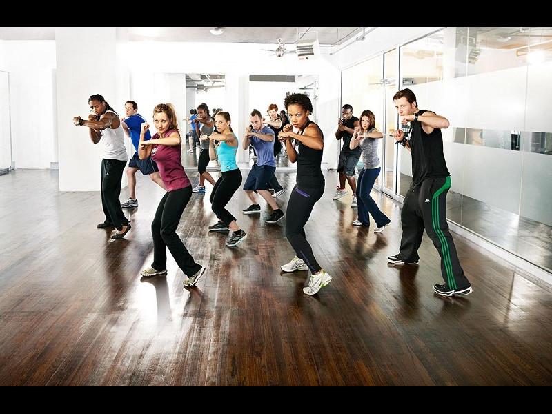 Clasele de group fitness