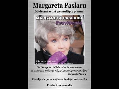 Margareta Pâslaru lansează album aniversar