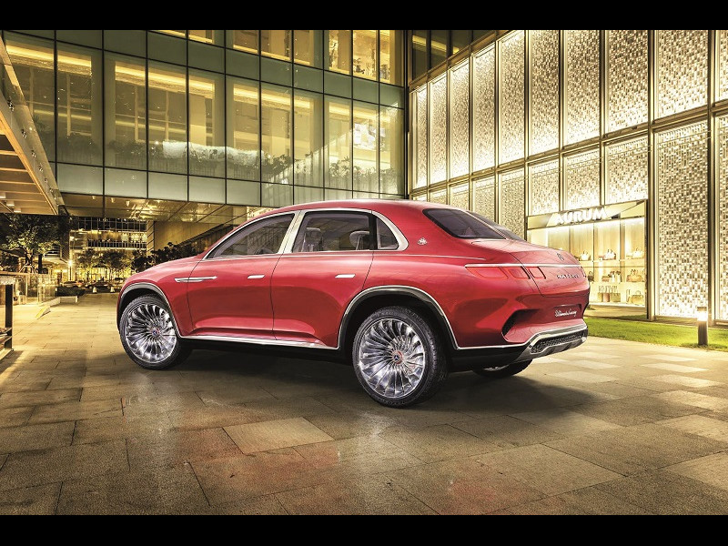 Vision Mercedes-Maybach SUV sau limuzină?