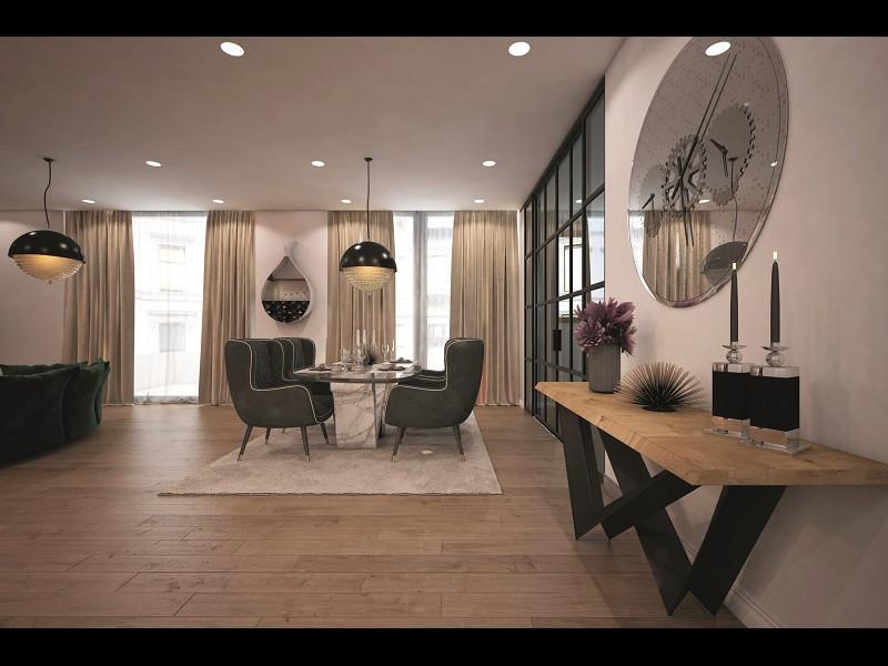 Tendinţe în designul de interior al livingului