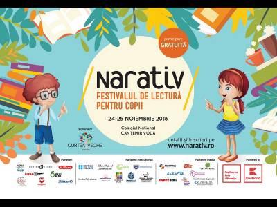 Începe a IV-a ediție NARATIV