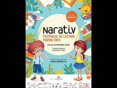 Poveștile prind viață în acest weekend la Festivalul NARATIV