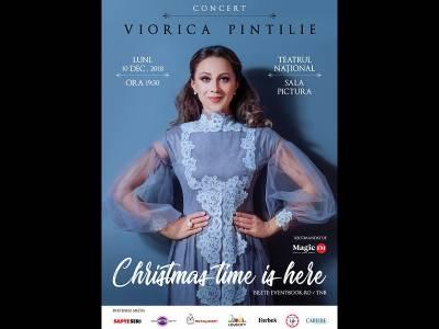 "Viorica Pintilie vă invită la concertul ""Christmas time is here"" | 10.12.2018 TNB"