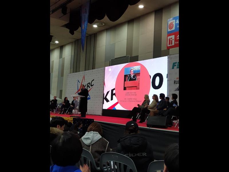 România a câștigat finala Campionatului de Robotică din Coreea de Sud