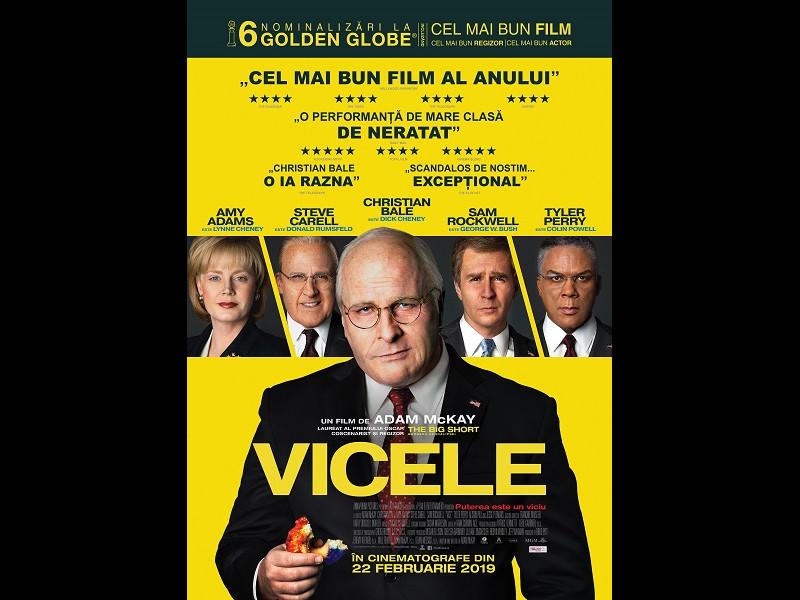 Vicele, un film despre culisele puterii mondiale