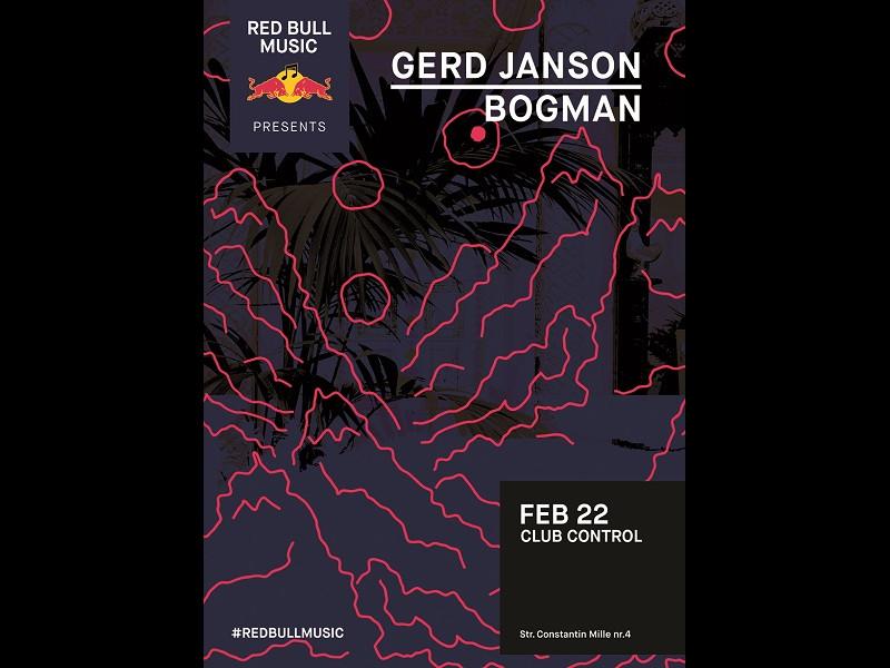 Red Bull Music prezintă: Gerd Janson în Club Control
