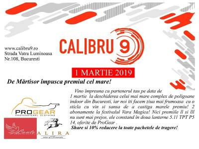 Calibru9 | Deschidere oficială 1 martie 2019