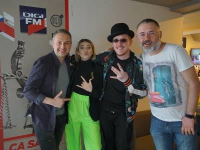Lidia Buble și What's UP fără frigidere la Digi FM