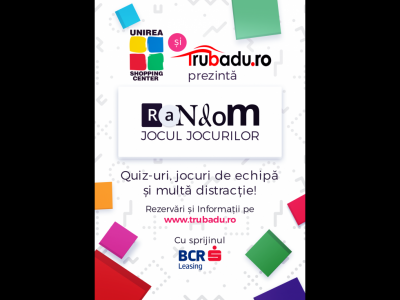 Trubaduro lansează Random, un joc unic in România