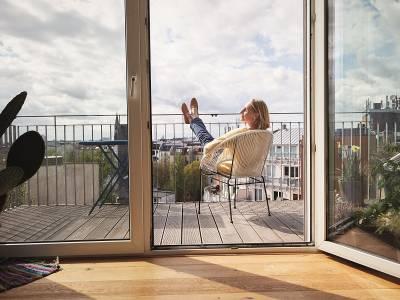 Transformă balconul într-o oază urbană