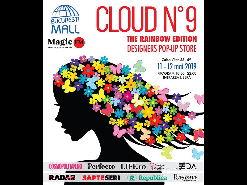 Cloud No 9 Pop-Up Store aduce primăvara mai repede în București Mall