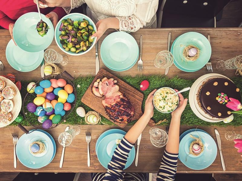 Ce, cum și cât să mâncăm de Paște?