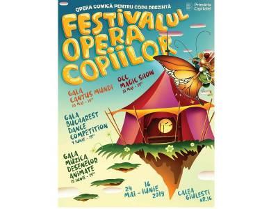 5 zile până la Festivalul Opera Copiilor, ediția V