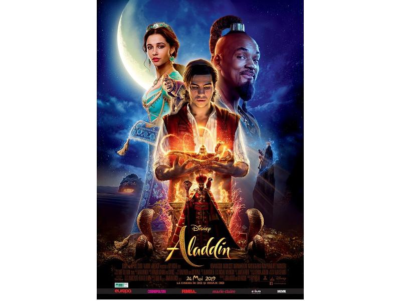 Aladdin live-action marca Disney