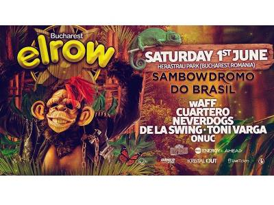 MARIUS ONUC deschide ELROW - SAMBOWDROMO DO BRASIL
