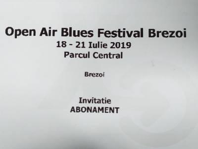 Câștigă 2 abonamente la Open Air Blues Festival Brezoi - Vâlcea