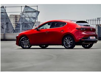 It's a match! It's a work of art! It's all new Mazda3!
