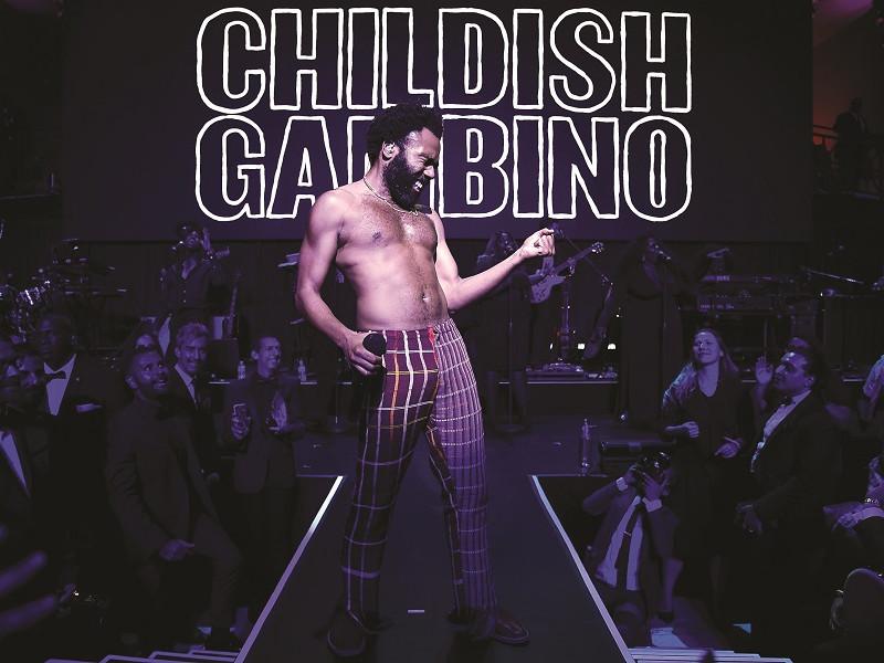Childish Gambino și carul alegoric