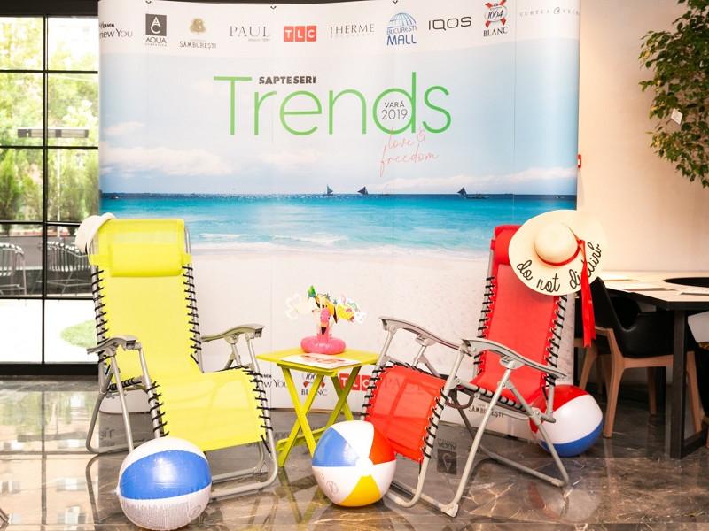 Petrecerea de lansare Șapte Seri Trends 11 ediția de vară