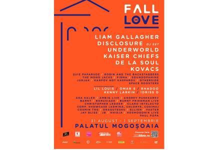 Toamna asta te îndrăgostești din nou de muzică și de natură la Fall in Love Festival