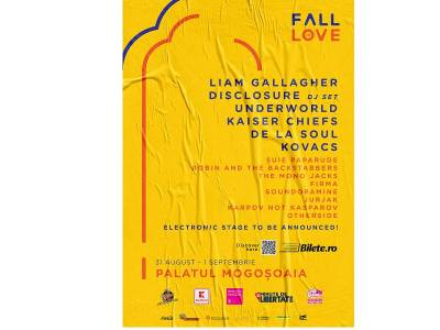 Nou val de confirmări la Fall in Love Festival