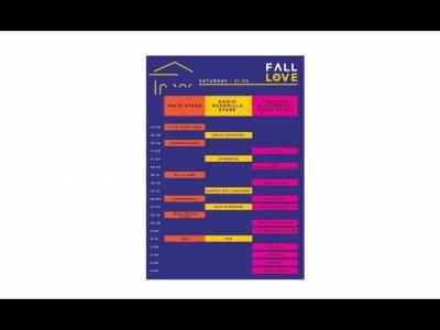 Programul concertelor, transportul gratuit, bilete pe zile și reguli de acces la Fall in Love Festival