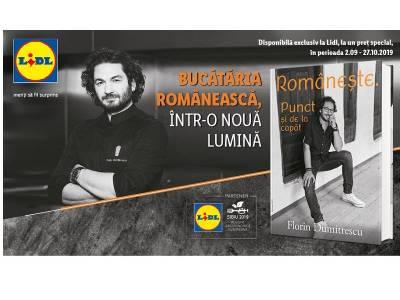 Chef Florin Dumitrescu lansează prima carte despre bucătăria românească modernă