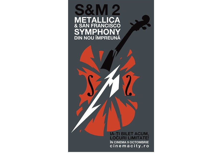 METALLICA & SAN FRANCISCO SYMPHONY: S&M² la Cinema City