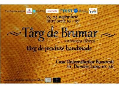Târg de Brumar - Târg de produse handmade