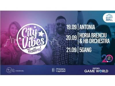 Cei mai în vogă artiști români vin la City Vibes Festival