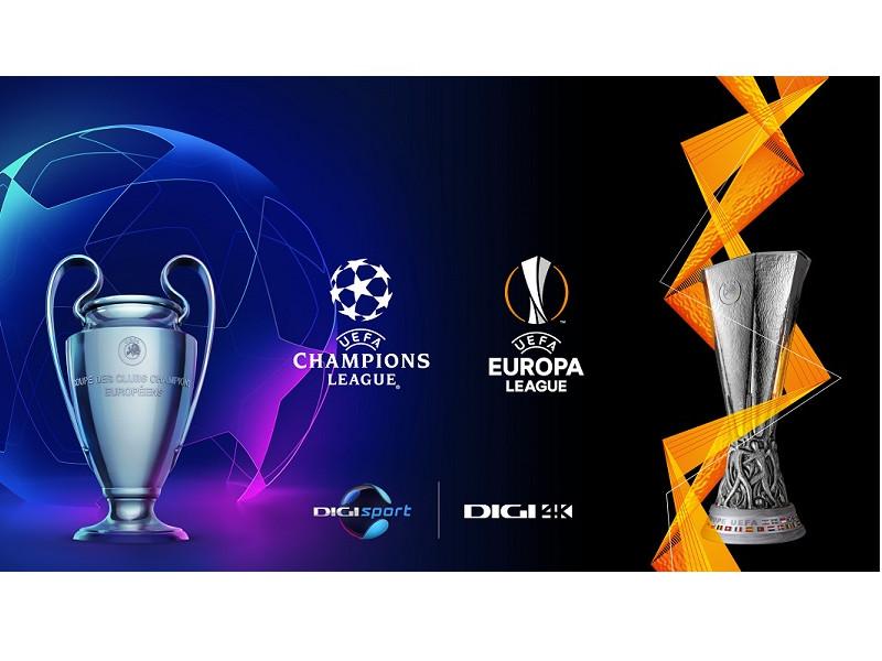 UEFA Champions League și UEFA Europa League în direct la Digi Sport