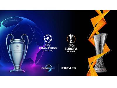UEFA Champions League și UEFA Europa League în direct la Digi Sport