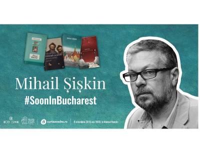 Mihail Șișkin, scriitorul care a făcut să renască literatura rusă, revine în București pe 8 octombrie