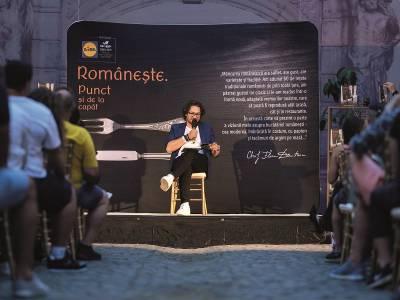Chef Florin Dumitrescu a lansat, Românește. Punct și de la capăt